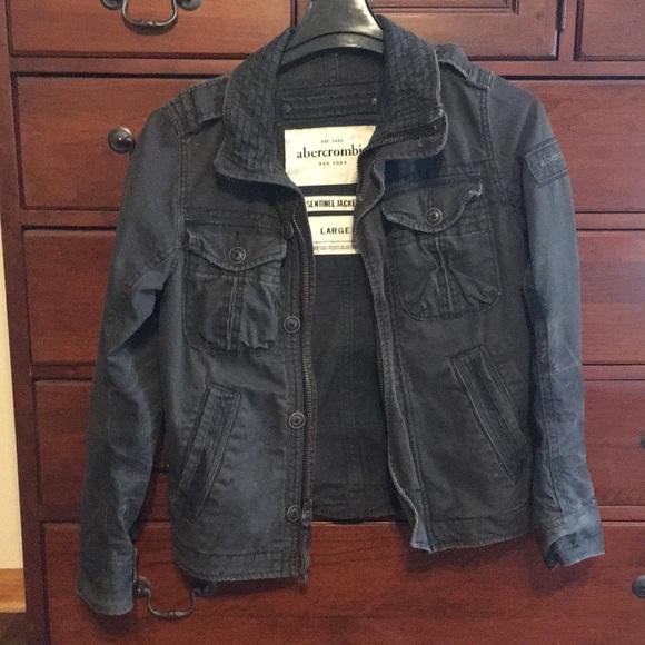 53ae4c99a20a3b Abercrombie & Fitch Jackets & Blazers - Abercrombie New York sentinel jacket